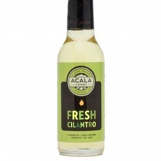Fresh Cilantro Flavored Cottonseed Oil is Certificated pesticide free, gluten free, vegan, zero cholesterol and zero trans fat. Frying, dipping, cooking oil. Spoonabilities.com