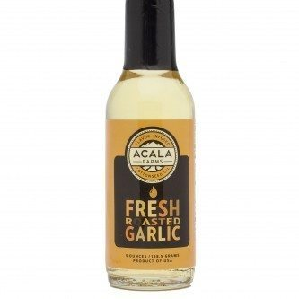 Fresh Roasted Garlic Cottonseed Oil 5.0 oz Acala Farms Cotton Oil