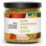 Apple Caramelied Onion Spread, produced by The Gracious Gourmet. Spoonabilities.com