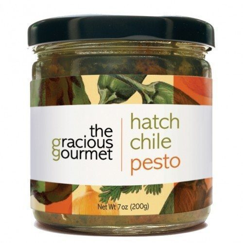 Hatch Chile Pesto The Gracious Gourmet. Available at Spoonabilities.com