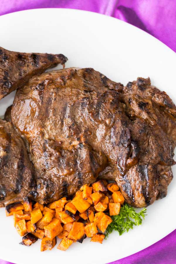 how to cook butterfly lamb leg on bbq