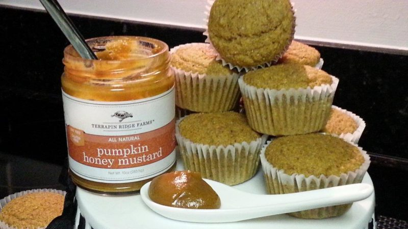 Pumpkin Cornbread Muffins. Spoonabilities.com
