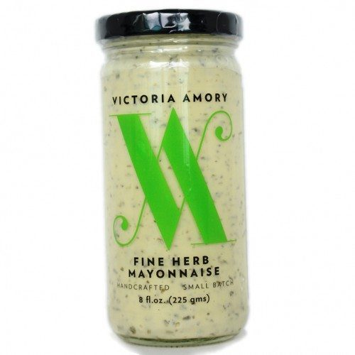 Fine Herb Mayonnaise - Use it to make a delicious egg salad, dip with shrimp and on top of crab cakes. It is the perfect sauce with grilled salmon and swordfish, on Grilled Potatoes, Tuna Melt or Panini, on top of vegetables - More uses and recipes at Spoonabilities.com @Spoonabilities $6.99