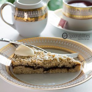 Fig Almond Cake Crumble Recipe | Fig Almond Torte