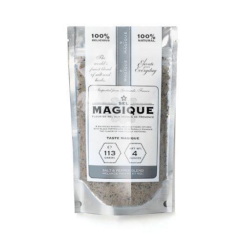 Fleur de Sel Sea Salt & Pepper Bag by Sel Magique. Spoonabilities.com