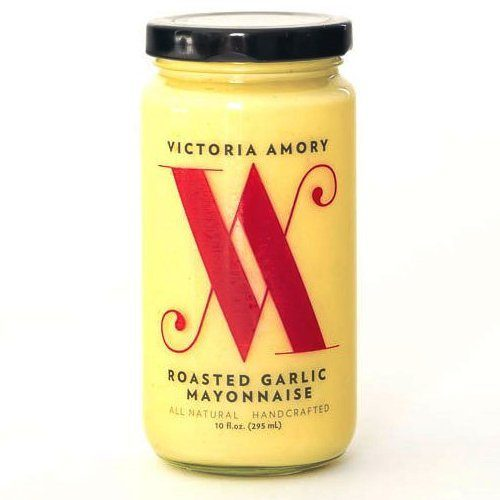 Roasted Garlic Mayonnaise from Victoria Amory. Made with premium real ingredients. Take your meals to the next level. Great as a gift for your foodie friends. Spoonabilities.com