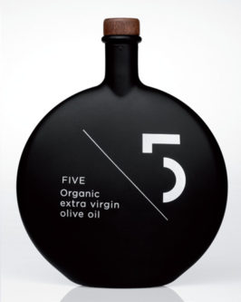 Five Organic Extra Virgin Olive Oil from Greece. This Gourmet EVOO is Obtained directly from handpicked, sustainable grown, organic olives. Available at Spoonabilities.com