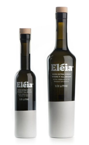 Eleia Kosher certified Extra Virgin Olive Oil is a high quality oil with fruity and intense aroma and a well balanced taste alluding to wild herbs. Shown in 200ml & 500ml glass bottles. Available at Spoonabilities.com