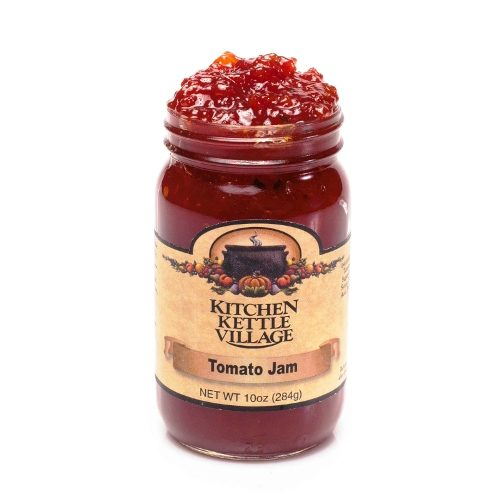 Tomato Jam, Kitchen Kettle Village (Amish Made), 10 Oz. Jars (Pack of 2). Available at Spoonabilities.com