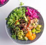 Spicy Tuna Poke Bowl – Ahi Poké Bowl with Sriracha Mayonnaise