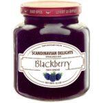 Scandinavian Delights Blackberry Fruit Spread. Blackberry Jam from Elki's. Available at Spoonabilities.com