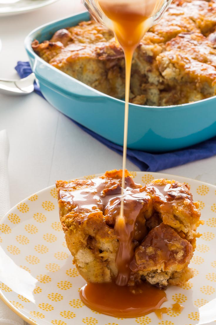 Caramel Sauce Recipes - Pumpkin Bread Pudding is the way to celebrate that Pumpkin Season is here. Top with either Salted Caramel Sauce. Spoonabilities.com