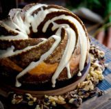 Pumpkin Carrot Bundt Cake with Cream Cheese Filling