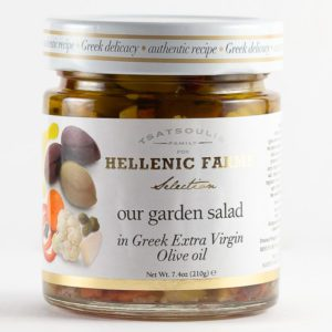 Our Garden Salad Pickled Vegetables produced by Hellenic Farms available at Spoonabilities