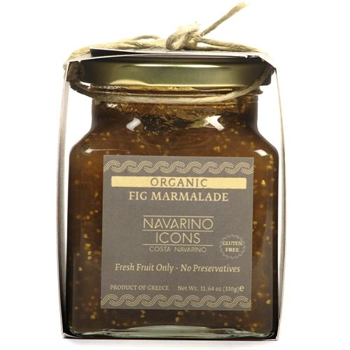 Fig Marmalade Organic Navarino Icons