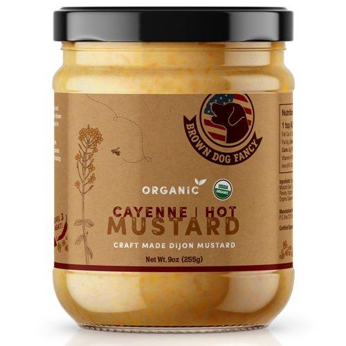 Cayenne Hot Dijon Mustard (Organic)