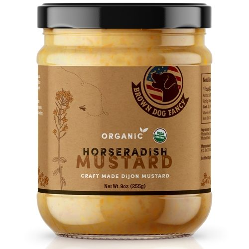 Horseradish Dijon Mustard Organic