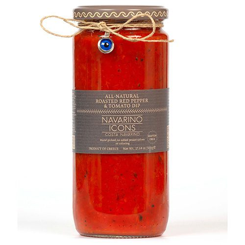 Navarino Icons Roasted Red Pepper and Tomato Dip